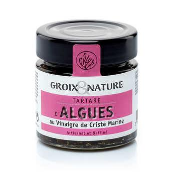 Groix & Nature - Tartare d'algues au vinaigre de criste marine