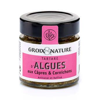 Groix & Nature - Tartare d'algues aux câpres et cornichons
