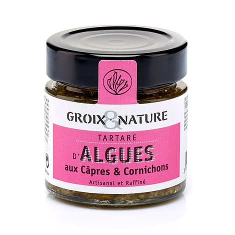Groix & Nature - Seaweed tartare with Caper and Gherkin