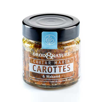Groix & Nature - Marine Caviar with Carrot and Wakame