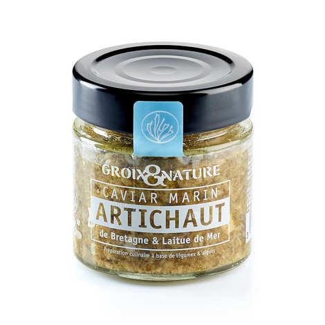 Groix & Nature - Caviar marin artichaut de Bretagne et laitue de mer