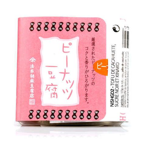 Nishikidôri - Tofu de cacahuète, sucre noir et kinako