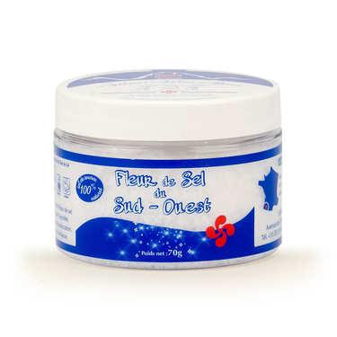 Fleur de sel de source du Béarn - pot plastique
