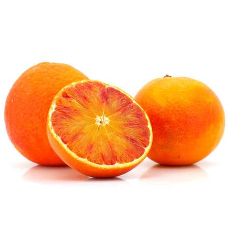 - Oranges sanguine de Sicile bio - variété Moro