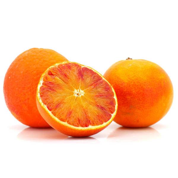 Oranges sanguine de Sicile bio - variété Moro