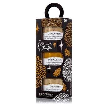 L'épicurien - Coffret tartinable à la truffe