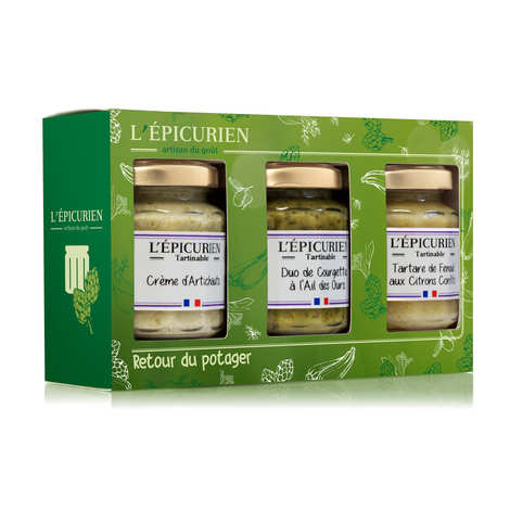 L'épicurien - Coffret tartinables retour du potager