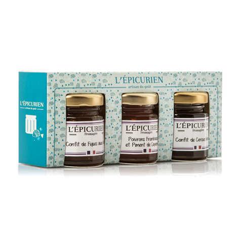 L'épicurien - Coffret confits fromagers
