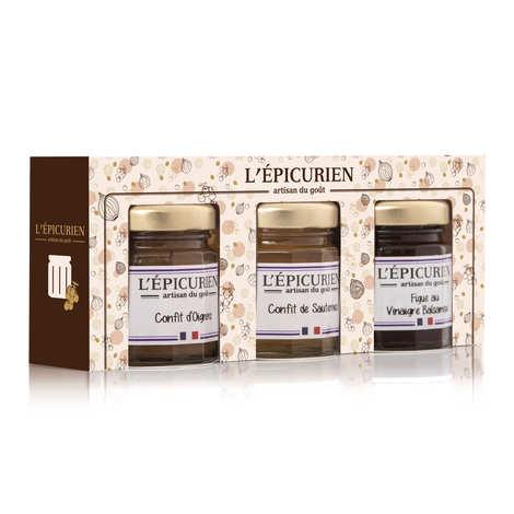 L'épicurien - Condiments for Foie Gras Box