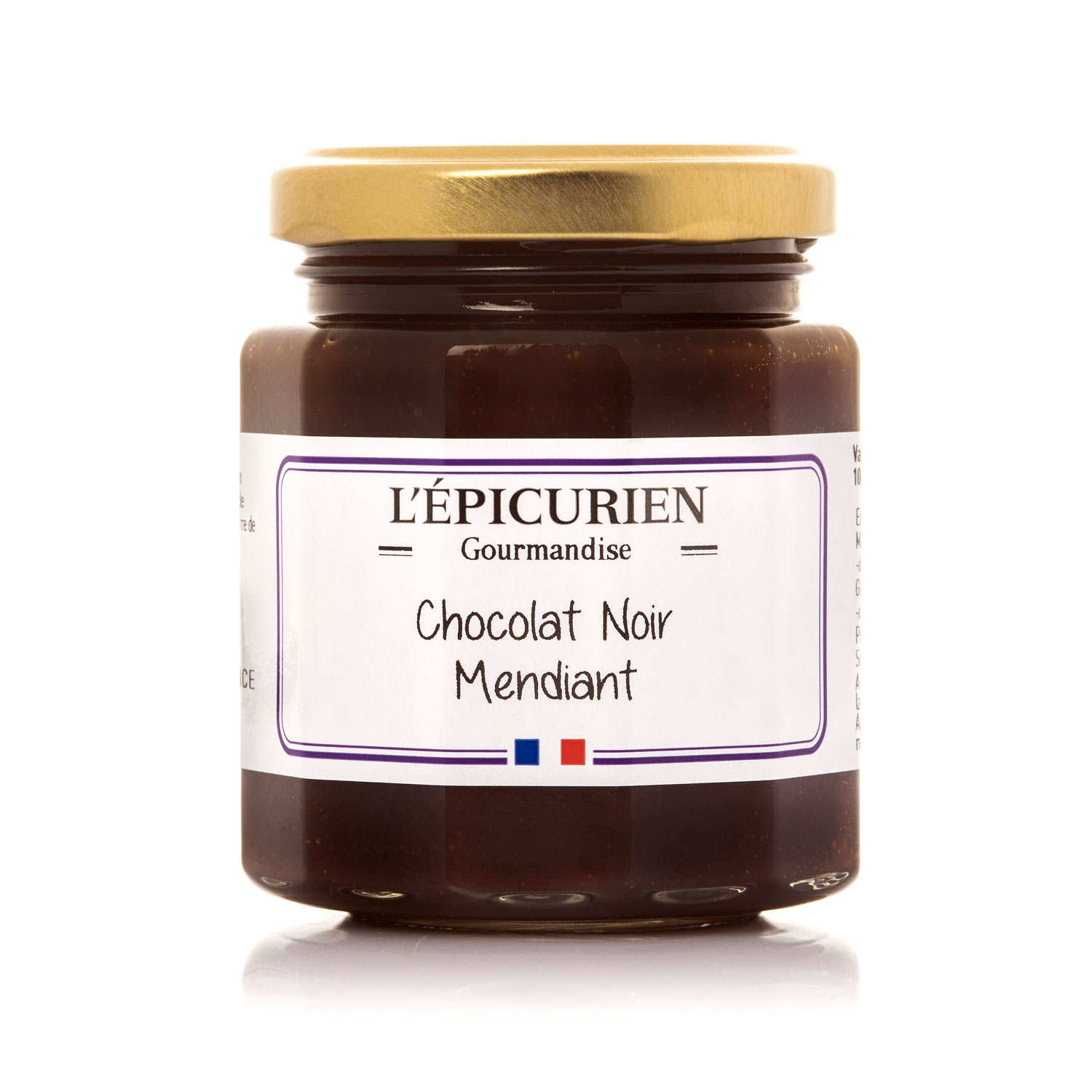 Dark chocolate spread with a pastry taste, l'Epicurien