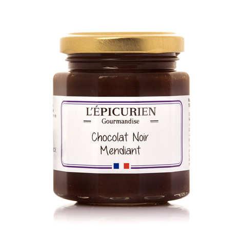 L'épicurien - Pâte à tartiner chocolat noir mendiant