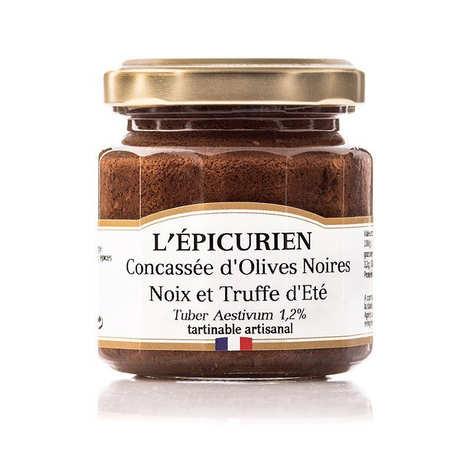 L'épicurien - Handcraft Pesto (Basil sauce) with Black Olives and Truffle (1.7%)