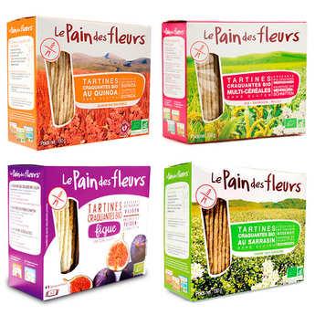Le pain des fleurs - Organic toasts Le Pain des Fleurs discovery offer