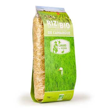 Canard des rizières - Riz long de Camargue IGP semi-complet bio
