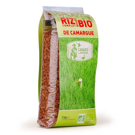 Canard des rizières - Riz rouge de Camargue IGP complet bio