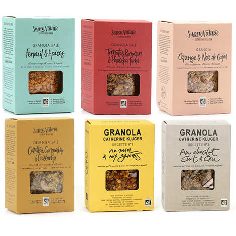 Granola Catherine Kluger - Catherine Kluger granolas discovery offer