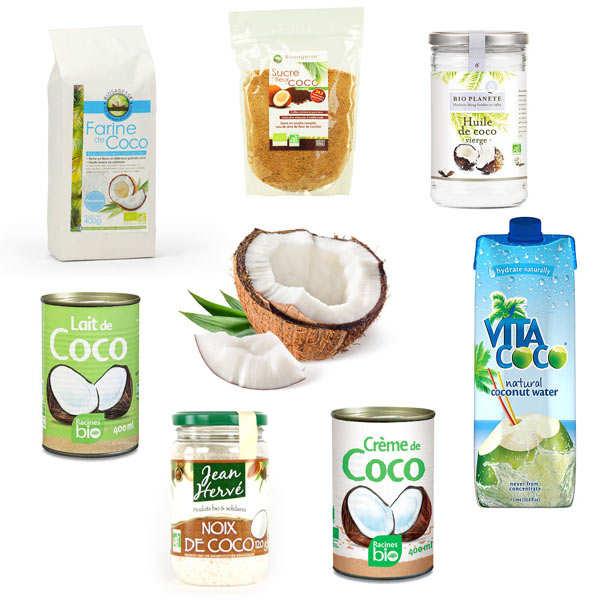 Lot noix de coco plaisir et bien-être