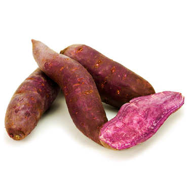 Patate douce violette bio