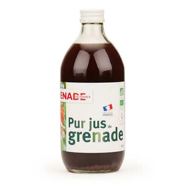 Pur jus de grenade de France vegan et bio