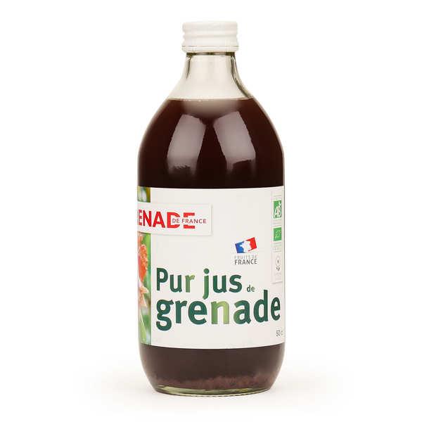 Organic and Vegan French Pomegranate Juice