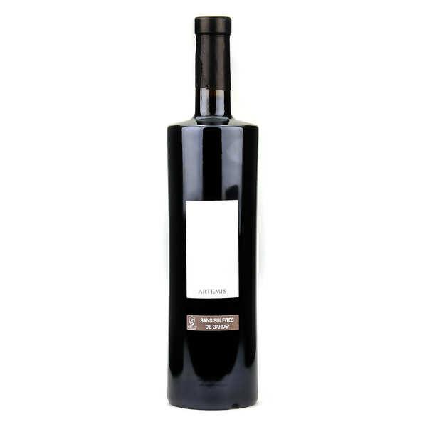 Artemis - côte du rhône rouge sans sulfite ajouté, vegan et bio - bouteille 75cl - 2016