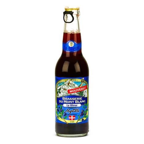 Brasserie du Mont Blanc - La Bleue du Mont Blanc - Bière française à la myrtille 5.8%