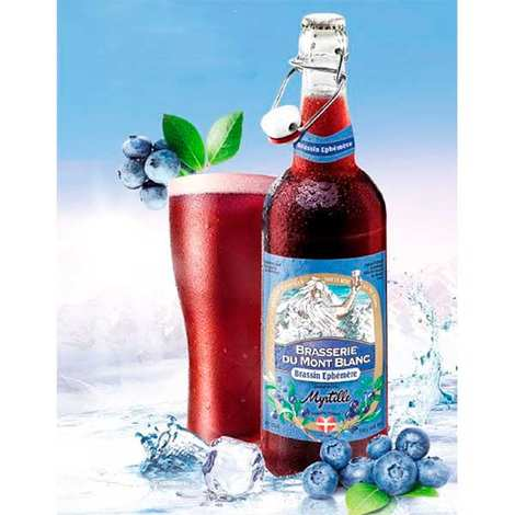 Brasserie du Mont Blanc - Bluefrom Mont Blanc - French Beer 5.9%