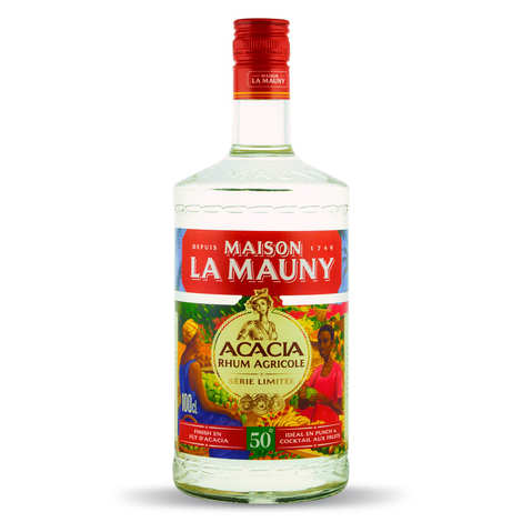 La Mauny - La Mauny Acacia - Rhum blanc de Martinique 50%