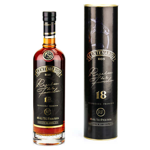 Centenario Rum 18 years old - Costa Rica 40 %