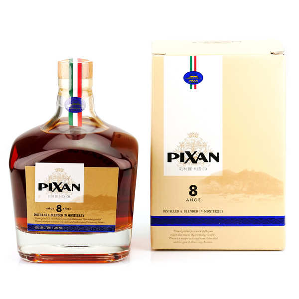 Rum from Mexico Pixan 8 ans 40%