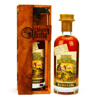 La Maison du Rhum - La Maison du Rhum Guadeloupe 2009 (Distillerie Damoiseau) 42%