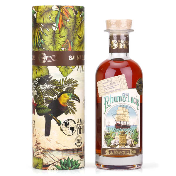 La Maison du Rhum Sainte-Lucie 2010 (Distillerie Santa Lucia) 45%