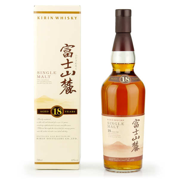 Kirin 18 years old - Single Malt Japanese Whisky 43%