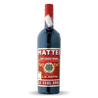 L.N. Mattei - Cap Mattei rouge - Quinquina Based Aperitif