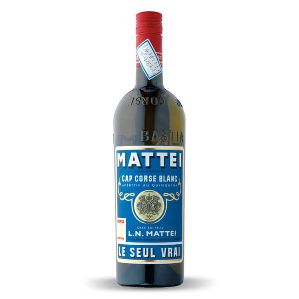 Cap Mattei blanc - Apéritif corse au quinquina
