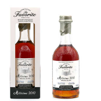 La Favorite - Rhum La Favorite Millésime 2009 48% (Martinique)