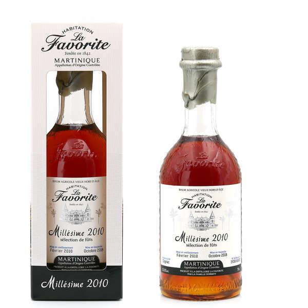 La Favorite rum Vintage 2009 48%