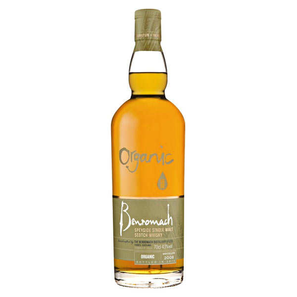 Whisky Benromach Organic bio special edition
