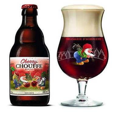 Cherry Chouffe - Bière belge aromatisée à la cerise 8%