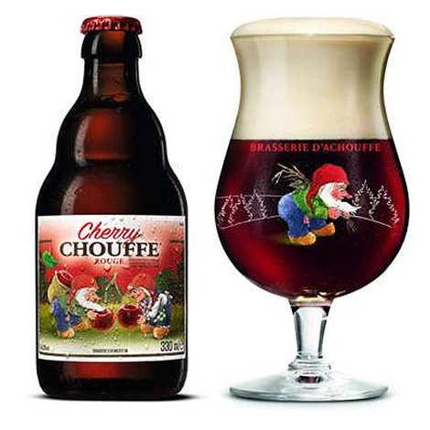 Brasserie d'Achouffe - Cherry Chouffe - Bière belge aromatisée à la cerise 8%