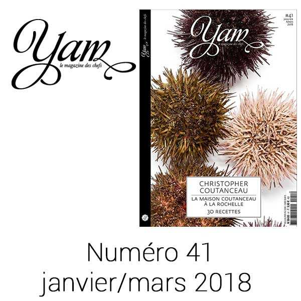French magazine about cuisine - YAM n°41