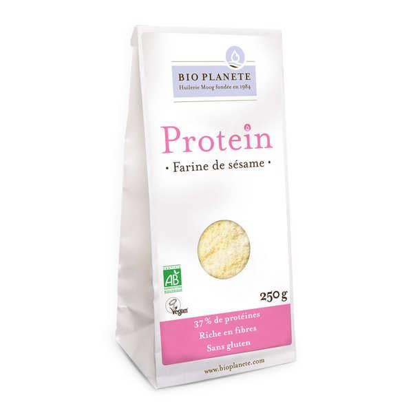 Farine de sésame bio sans gluten et vegan - Gamme Protéin