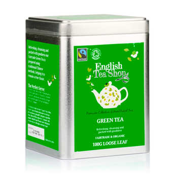 English Tea Shop - Organic Ceylon Green Tea - Metal box