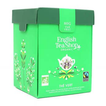 English Tea Shop - Thé vert de Ceylan bio - Boite métal vrac