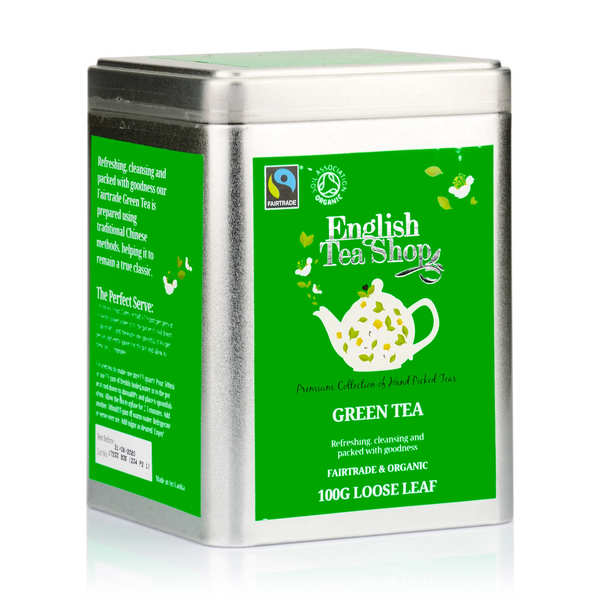 Organic Ceylon Green Tea - Metal box