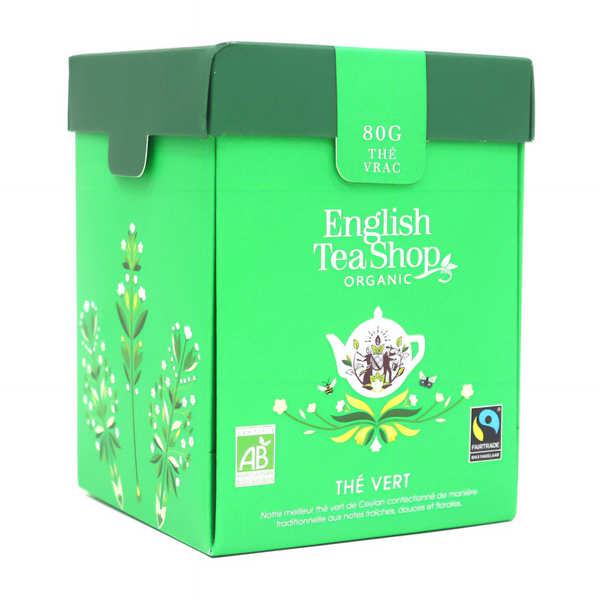 Thé vert de Ceylan bio - Boite métal vrac
