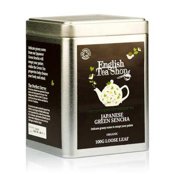 English Tea Shop - Thé vert sencha bio - Boite métal vrac