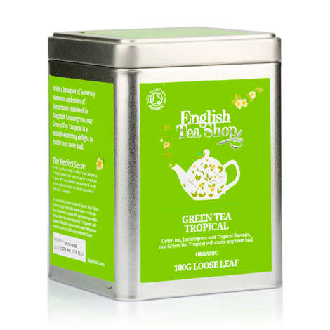 English Tea Shop - Organic Tropical Green Tea - box