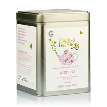 English Tea Shop - Organic White Tea in bulk (Tin)