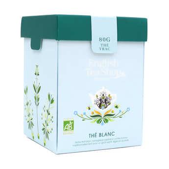 English Tea Shop - Thé blanc bio en vrac (Boite métal)